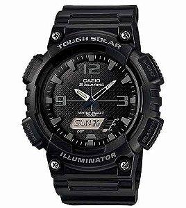 *N5066* Relógio Casio Aq-s810 W-1a2 Tough Solar 5 Alarmes H.mundial