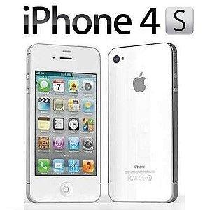 *N5061* iPhone 4S 8GB Branco Desbloqueado iOS 7 3G Wi-Fi Câmera de 8MP - Apple Venha correndo para nossa loja, dê diversos produtos como parte de pagamento aqui é TRATO FEITO!