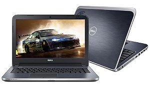 """N5069* Notebook Dell, Intel Core i7, 8GB, 1TB, Tela de 14"""" 2GB de vídeo, Inspiron - 14R-5437 Bluetoot. Produto na caixa. Aceitamos seu notebook usado, netbook, tablet, tv, games, eletrônicos como parte de pagamento e até outros produtos."""