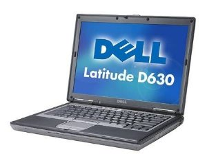 *D630-1* Notebook com Serial DB9 Dell Latitude D630 Intel Core 2 Duo 2.0Ghz HD 80GB 2GB, FireWire 1394, SmartCard, VGA, 4 USB, Wifi, Rede Lan, Windows 7.