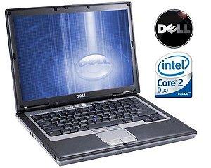 *D630-3* Notebook com Serial DB9 Dell Latitude D630 Intel Core 2 Duo 2.0Ghz HD 80GB 2GB, FireWire 1394, SmartCard, VGA, 4 USB, Wifi, Rede Lan, Windows 10