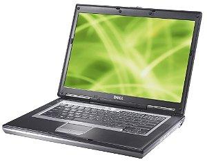 *D630-4* Notebook com Serial DB9 Dell Latitude D630 Intel Core 2 Duo 2.0Ghz HD 120GB 2GB, FireWire 1394, SmartCard, VGA, 4 USB, Wifi, Rede Lan, Windows 10