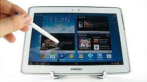 *820-2* Tablet Samsung Galaxy Note N8000 10.1´ 3G, Android 4.0, 16GB, Câmera 5MP, Wi-Fi, Bluetooth, Branco. Fazemos trocas por notebooks, macbooks, iphones e outros produtos.