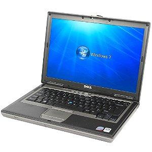*D630-14* Notebook com Serial DB9 Dell Latitude D630 Intel Core 2 Duo 2.0Ghz HD 750GB 4GB, FireWire 1394, SmartCard, VGA, 4 USB, Wifi, Rede Lan, Windows 7