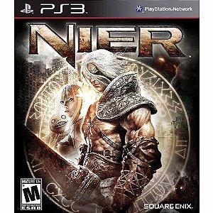 *N5083* Jogo PS3 NIER para PlayStatyon 3 roda em qualquer PS3 aqui você pode dar seu jogo antigo como forma de pagamento.