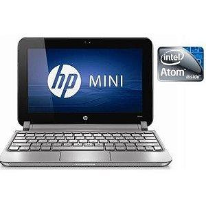 *N5085* Netbook HP Mini 210-2045 2GB, HD 120GB, Rosa, Windows 10 completo. 3 USB, Webcam. Aceitamos diversos produtos como parte de pagamento, venha para nossa loja negociar conosco.