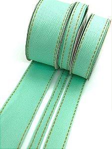 Fita Jeans Sinimbu - Verde - Rolo 10 metros