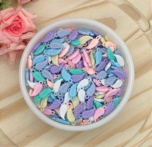 Pingente Acrílico Candy Colors - Peninha - Pacote 20 gramas