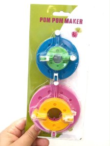 Kit Faz Pompom - 4 peças