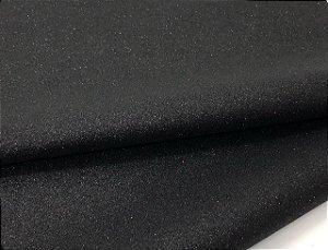 Lonita Glitter Fino - Preta - 24x35cm - Unidade