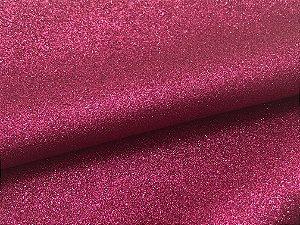 Lonita Glitter Fino - Pink - 24x35cm - Unidade