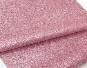 Lonita Glitter Fino - Rosa Claro - 24x35cm - Unidade