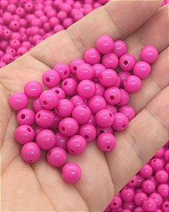 Bolinha Leitosa - Rosa Escuro - 8mm - 30 gramas