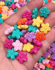 Entremeio de Florzinhas - Cores Sortidas - 30 gramas