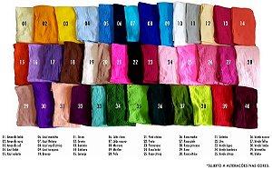 Meia de Seda - Oriental - Unidade - 30 cores