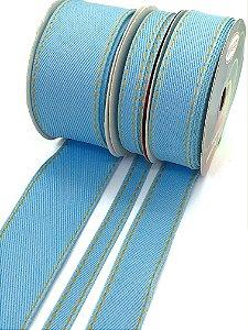 Fita Jeans Sinimbu - Azul Claro - Rolo 10 metros