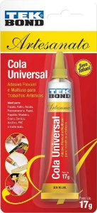Cola Universal Tek Bond - 17g