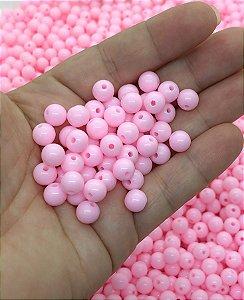 Bolinha Leitosa - Rosa Bebê - 8mm - 30 gramas