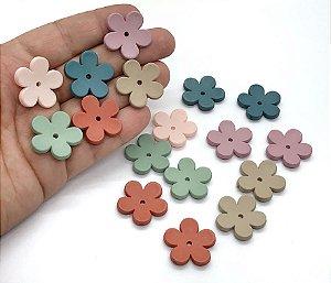 Florzinhas Foscas - Pacote com 3 unidades