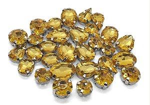 Kit Variado Engrampados - Amarelo - 30 peças