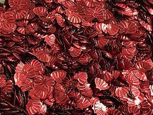 Micro Conchinhas - Vermelha - Pacote com 10 gramas
