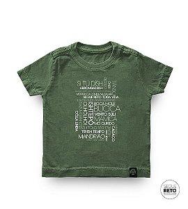 Camiseta Infantil - Expressões