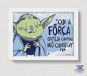 Quadrinho Mestre Yoda