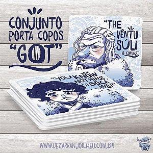 Porta Copos Dezarranjo Ilhéu - GOT (Kit 06 und)