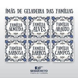 Imãs de Geladeira Famílias