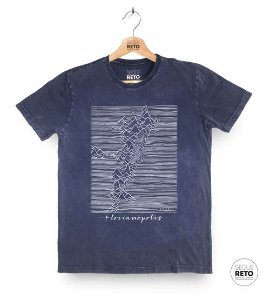 Camiseta Marmorizada - Floripa Lines