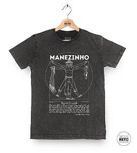 Camiseta Marmorizada - Manezinho Vitruviano