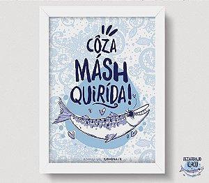 Quadrinho Côza Másh Quirída