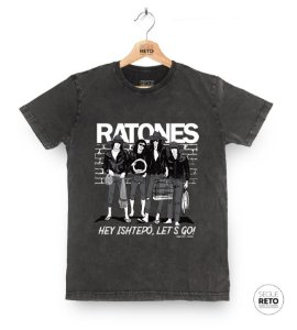 Camiseta Marmorizada - Ratones