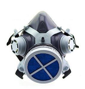 Máscara de Proteção 1/4 Facial com Filtro P2 (COVID-19)