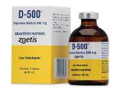 D-500 Dipirona Sódica 500 mg - Zoetis 50 Ml