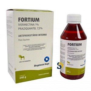 Fortium - Vermifugo p/ Equinos 240 Gr. - Biogénesis Bagó