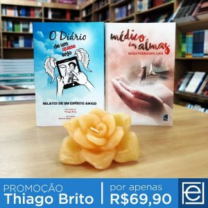 Kit Promocional Thiago Brito - Opção 1