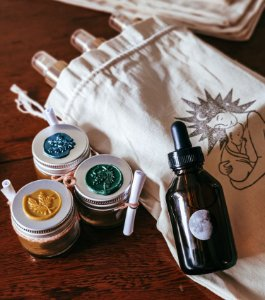 Kit bumbum feliz & óleo de massagem