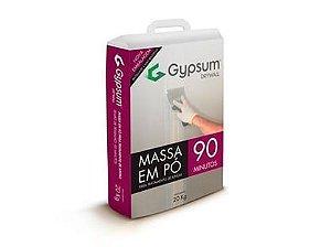 MASSA P/ REJUNTE 20 KG GYPSUM - 90