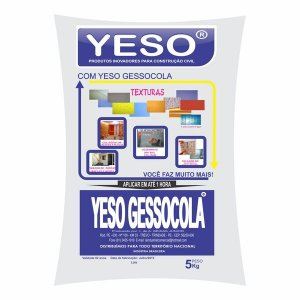 GESSO COLA 5 KG YESO