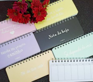 KIT MINI PLANNER HORIZONTAL C/6