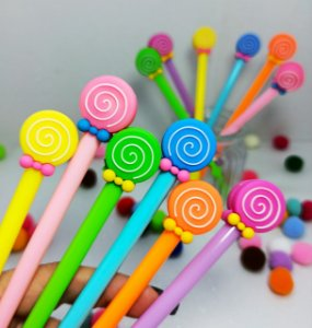 KIT CANETA LOLLIPOP C/12