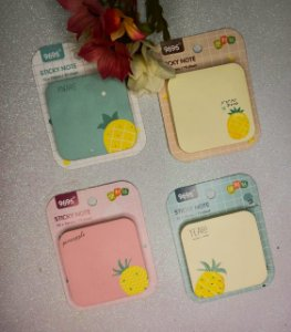 KIT C/8 POST IT ABACAXI