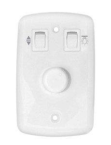 Controle de Velocidade Espelho BR CV Rotativo Bivolt - Cod.194