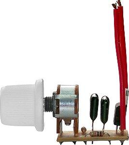 Dimmer Rotativo Bivolt Invertido p/ Modulo com OFF (Bloco) - Cod. 31 400W - Cod.404 1000W