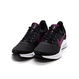 Tênis Esportivo Nike Downshifter 11 Feminino Preto