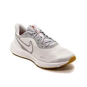 Tênis Esportivo Nike Revolution 5 Masculino Branco