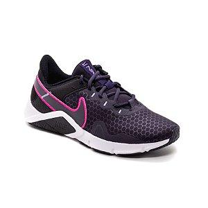 Tênis Esportivo Nike Legend Essential Feminino Preto e Rosa