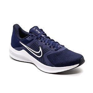 Tênis Esportivo Nike Downshifter 11 Masculino Azul Marinho