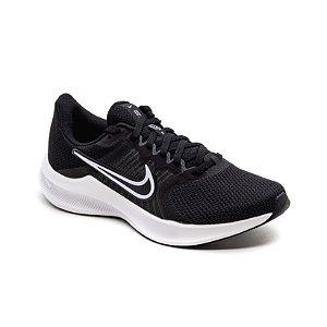 Tênis Esportivo Nike Downshifter 11 Feminino Preto e Branco